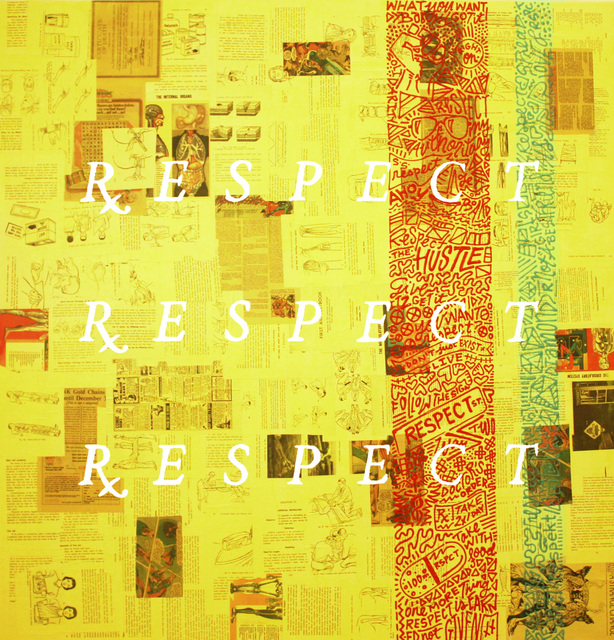 , 'Doctor's Orders Series: RESPECT x 3,' 2017, Contessa Gallery