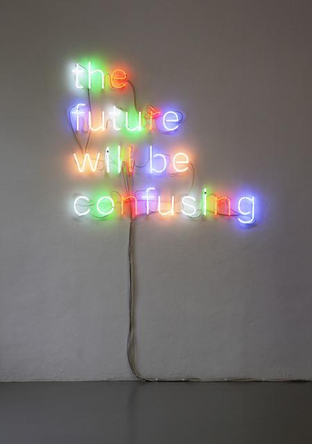 , 'Will Be,' 2010, VITRINE