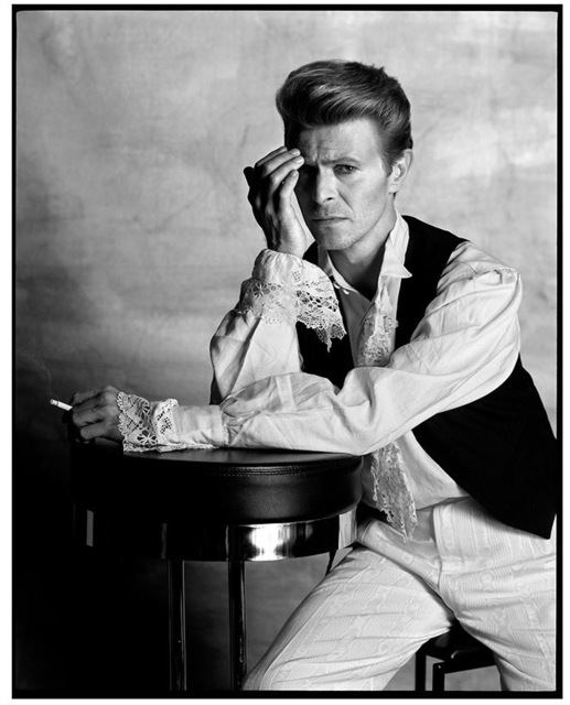 , 'David Bowie Asks The Question Regarding Irving Pen,' 1990, Imitate Modern