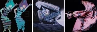 Andy Warhol, ' Martha Graham Complete Portfolio (FS II.387-389) by Andy Warhol ', 1986, Revolver Gallery