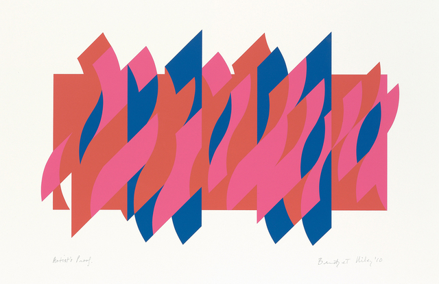 Bridget Riley, 'Red Red Blue', 2010, Tanya Baxter Contemporary