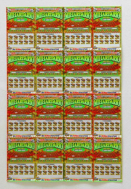 , 'Miliardario,' 2011, Studio SALES di Norberto Ruggeri