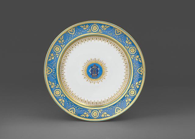 , 'Plate,' English (Stoke, on, Trent) 1870, H. Blairman & Sons Ltd
