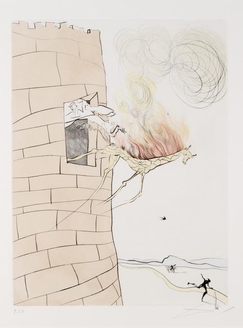 Salvador Dalí, 'Le Grand Inquisiteur Chasse Le Sauveur from Apres 50 Ans du Surrealisme', Print, Drypoint, Dallas Museum of Art
