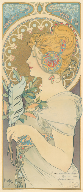 , 'La Plume,' 1896, Rennert's Gallery