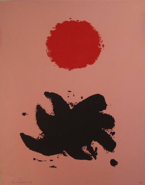 Adolph Gottlieb, 'Pink High', 1969, Marlborough Graphics
