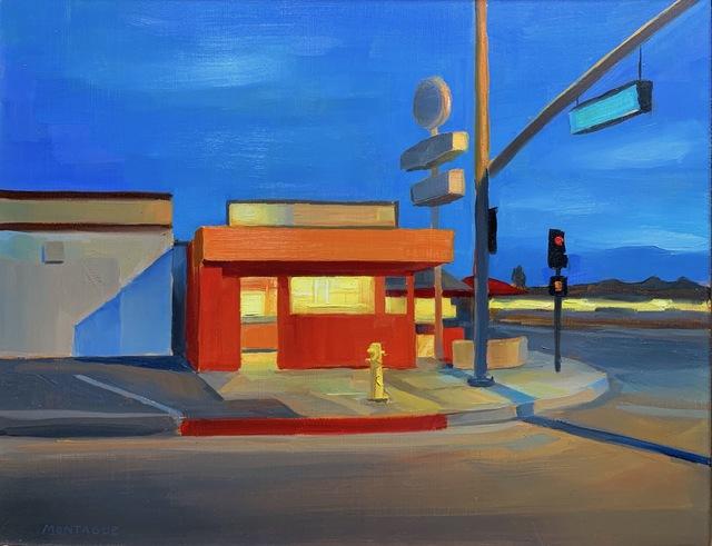 , 'Incandescent Street Corner,' 2019, George Billis Gallery