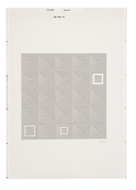 , 'Untitled (14),' 1977, The Mayor Gallery