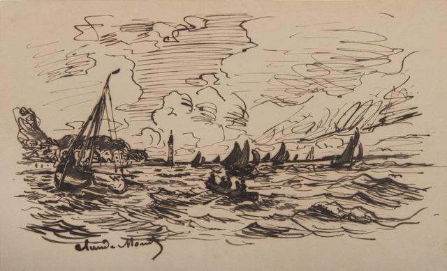 , 'Le phare de l'hospice à Honfleur,' 1865, BAILLY GALLERY