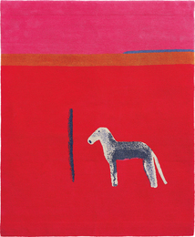Craigie Aitchison, 'Bedlington In Red,' 2012, Phillips: Evening and Day Editions