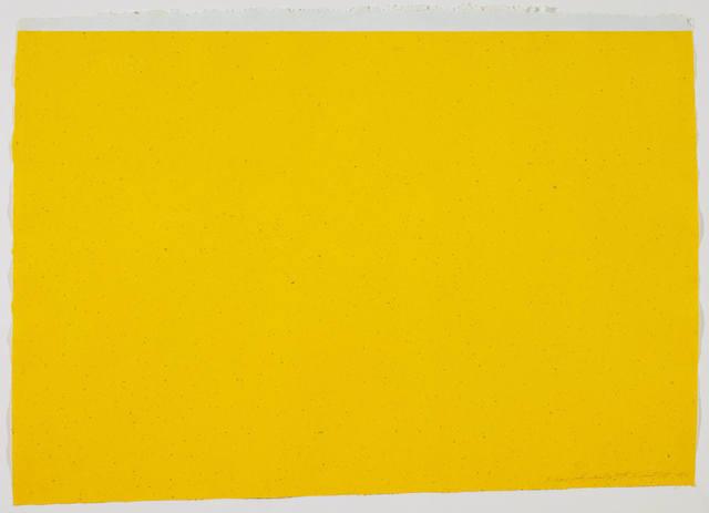 , '(To Don Judd, Colorist) 3,' 1987, Gemini G.E.L. at Joni Moisant Weyl