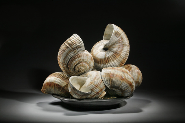 , 'SERIES ESCARGOT I - DINNER PLATE,' 2005, ArtSpace / Virginia Miller Galleries