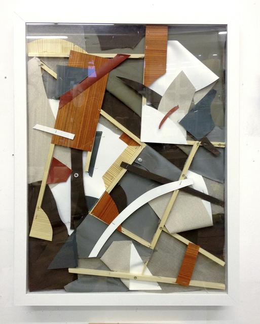 , 'Luftiges Relief im Rahmen,' 2013, Gestalten