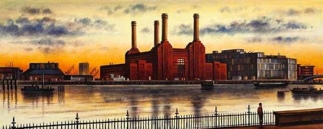, 'London Vista - Battersea,' 2018, Catto Gallery