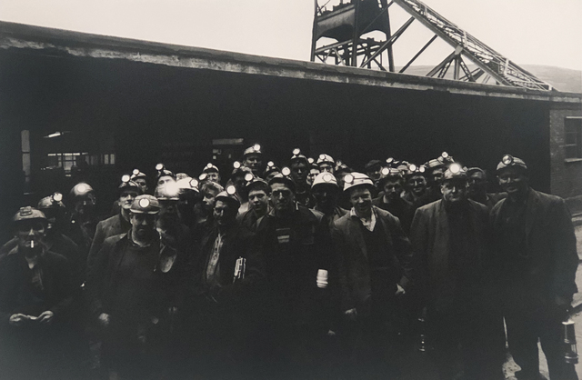, 'Portrait of a group of miners, Wales, Great Britain,' ca. 1965, Elizabeth Houston Gallery