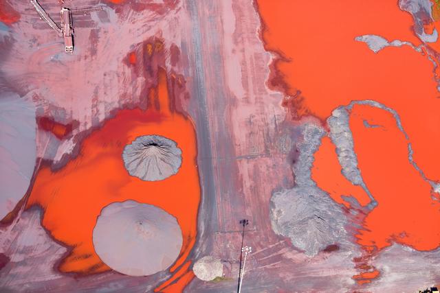 , 'Ore Runoff, Duluth, MN,' 2014, Huxley-Parlour