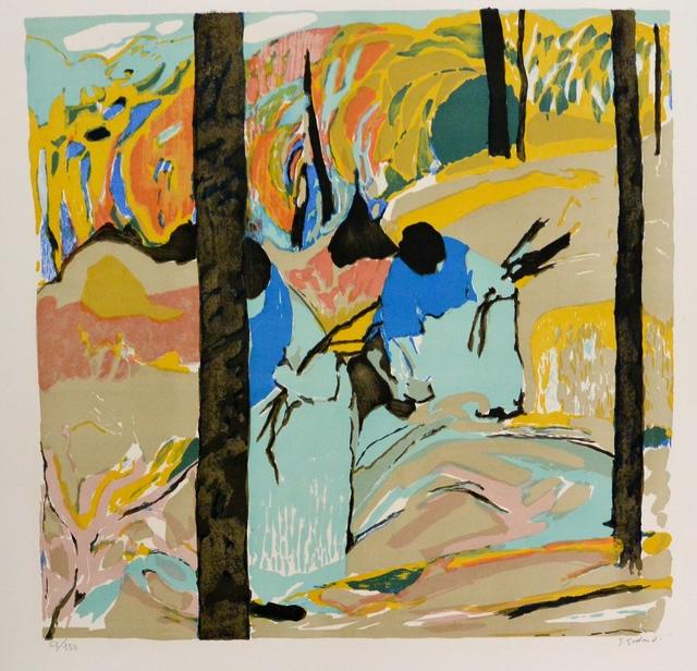 , 'La ramasseur,' 1974, Artioli Findlay