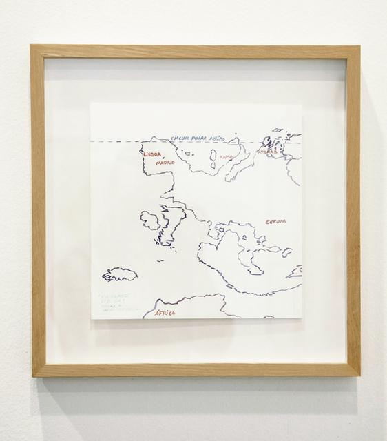 , 'Tribute to Joaquín Torres García.Our north is the south.,' 2014, Aura