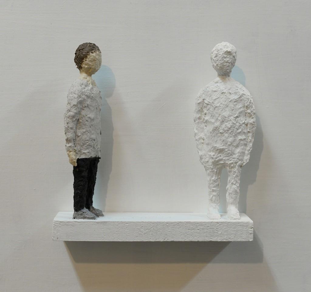 EGOR PLOTNIKOV. Objects and subjects # 4. 2015. Sculpture. Papier mache, concrete, acrylic