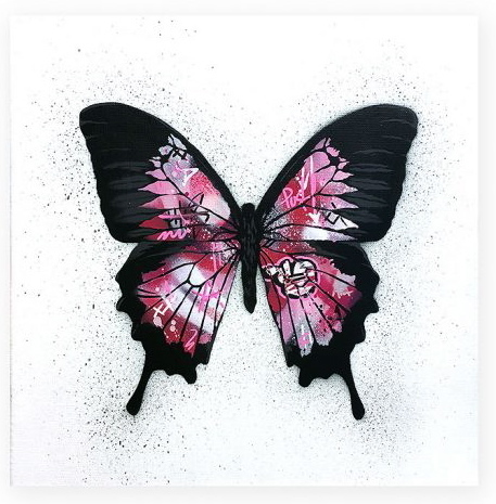 , 'Butterfly (pink),' 2017, Spoke Art