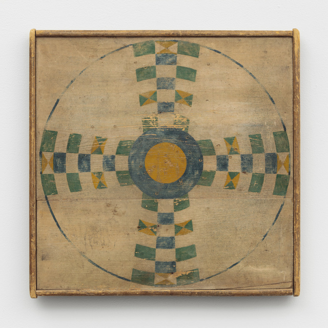 , 'Parcheesi Game Board,' Late 19th Century, Ricco/Maresca Gallery