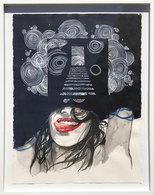 , 'A Smile in a Darkened Room,' ca. 2018, Samuel Lynne Galleries