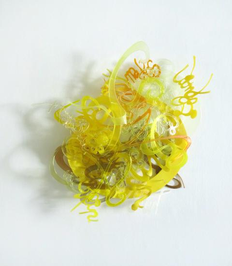 , 'Thinking Yellow  ,' 2014, Pentimenti Gallery