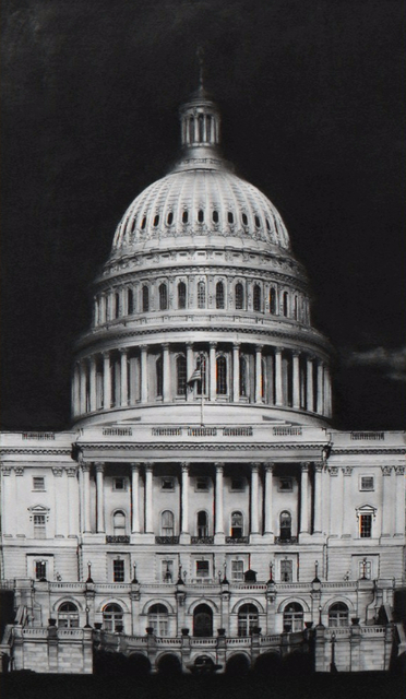 Robert Longo, 'Untitled (Capitol Detail)', 2017, Vogtle Contemporary