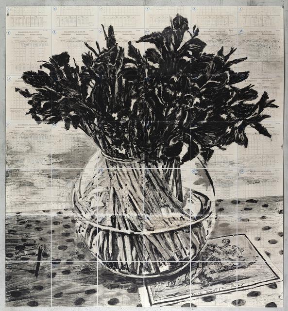 , 'Irises, Royal Observatory, Cape of Good Hope,' 2019, Marian Goodman Gallery