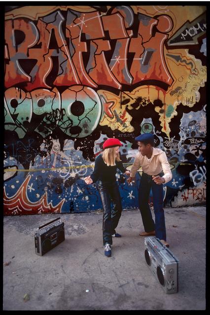 , 'Tina Weymouth and Grandmaster Flash, New York, NY ,' 1981, Steven Kasher Gallery