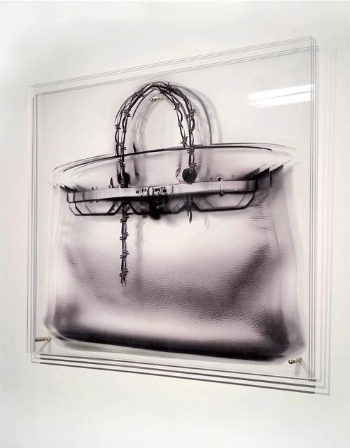 , 'FEMMES AU BORD DE LA CRISE DE GUERRE - Barbelé bag ,' 2014, Mark Hachem Gallery