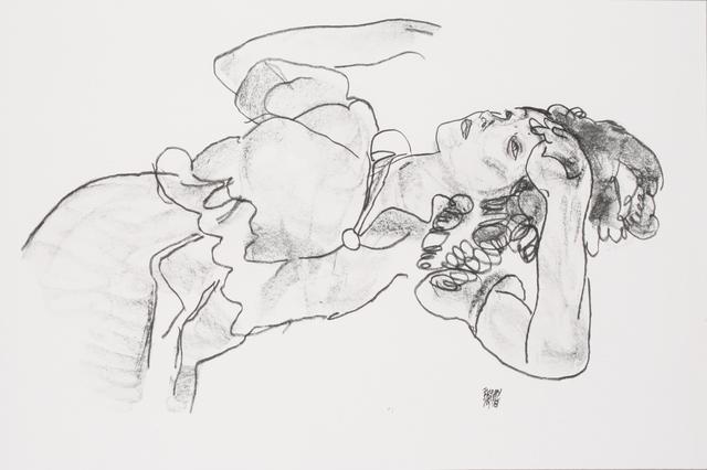 , 'Reclining Girl [Handzeichnungen],' 1920, Jason Jacques Gallery