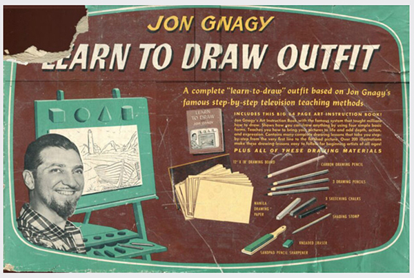 , 'Learn to Draw,' , Clark Gallery