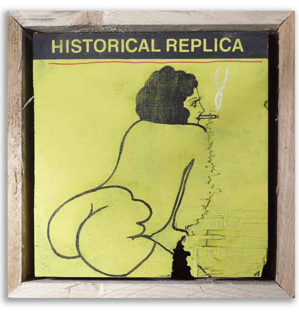 , 'Exact Historical Replica,' 2015, StolenSpace Gallery