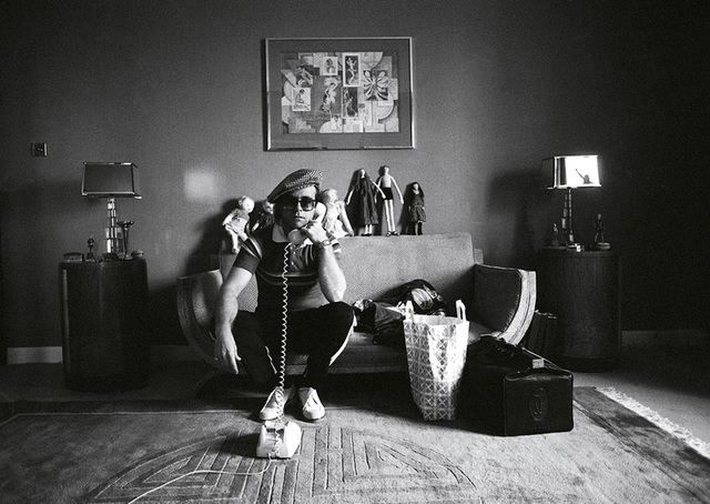 Terry O'Neill, 'Elton John with Telephone', 1974, Mouche Gallery