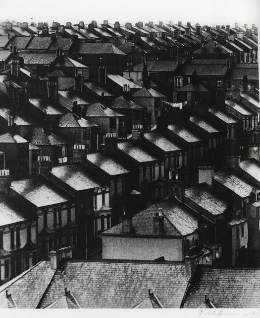 , 'Untitled (Rain Swept Roofs),' 1933, Michael Dawson Gallery