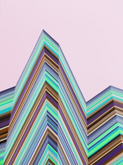 , 'Fluorite Strata,' 2017, Newzones