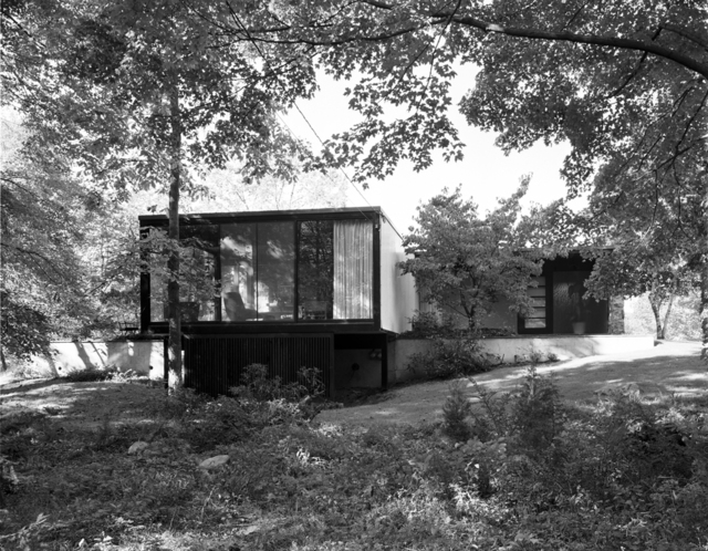 , 'Hurlburt House, New Canaan, CT (Leroy Binkley, Architect),' 1961, Edward Cella Art and Architecture