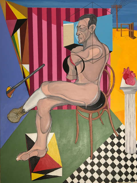 , 'Man and Chair,' 2017, Imlay Gallery
