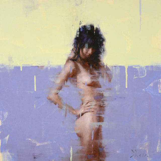 , 'Nude in Purple,' 2016, Abend Gallery