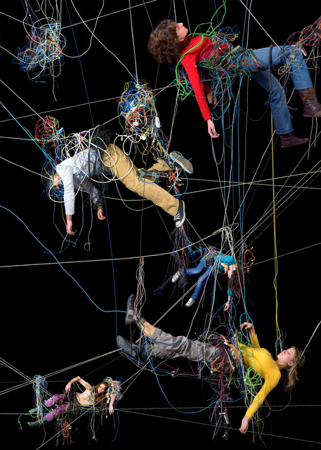 Daniel Canogar, 'Enredos 6', 2008, bitforms gallery