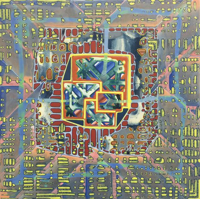 , 'Amplituhedron,' 2016, Pierogi