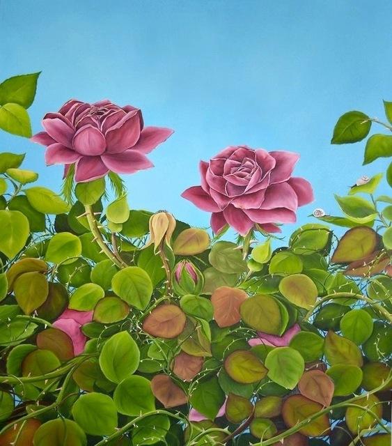 , 'July Roses,' 2013, Susan Eley Fine Art