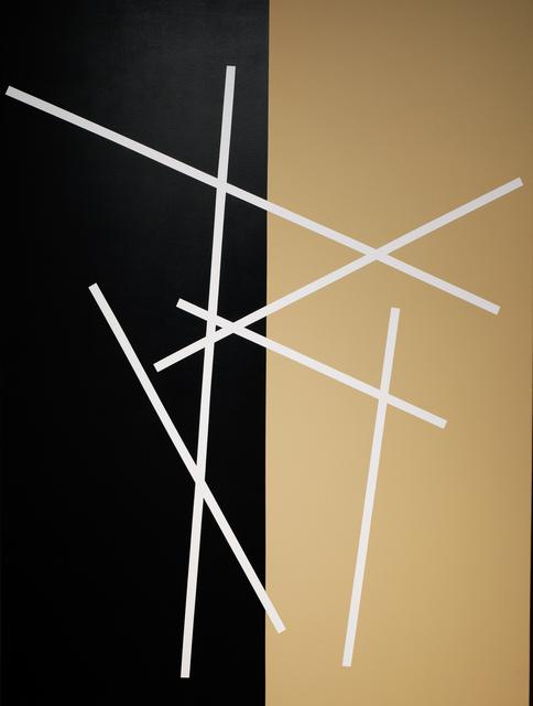 , 'Stick dance (direcciones opuestas),' 2016, Hache Gallery