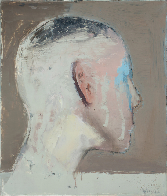 , 'Study for a head,' 2017, Galerie Dukan