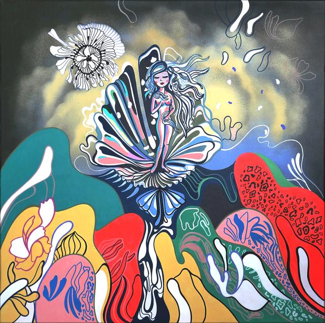 , 'Venus In Bloom,' 2017, Addicted Art Gallery