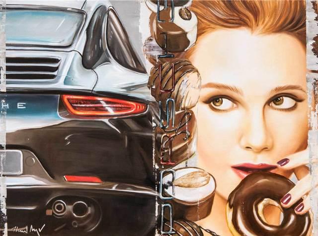 , 'Chocolate Wheels,' 2015, Galerie Barbara von Stechow