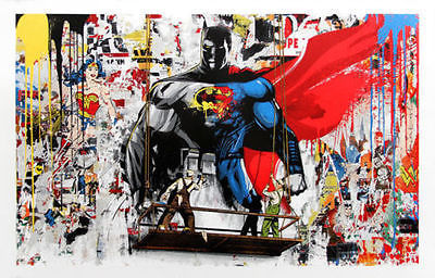 Mr. Brainwash, 'BATMAN VS SUPERMAN', 2016, Marcel Katz Art