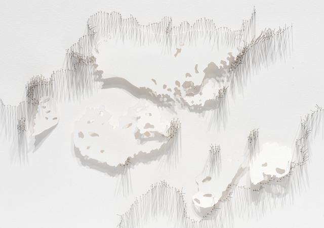 , 'Frontière 2,' 2017, L'Atelier 21