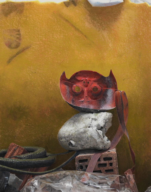 , 'Mask,' 2013, Galerie Van de Weghe